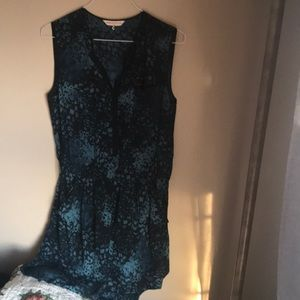 Rebecca Taylor button front dress